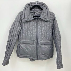 Halifax Traders Down Jacket Size XL Gray Packable